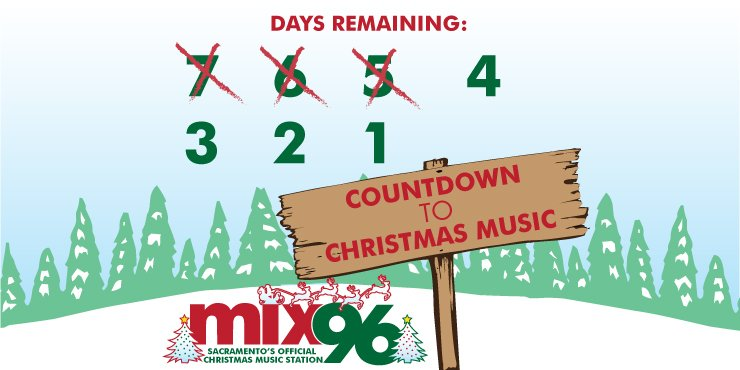 Non Stop Christmas Music.Mix 96 Sac On Twitter 4 More Days Until Nonstop Christmas