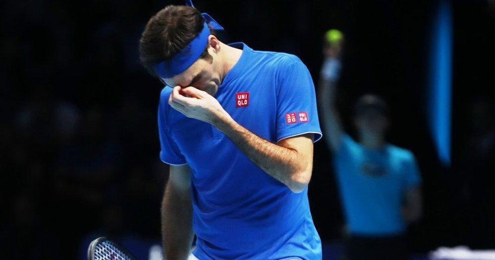José Morón's photo on Federer