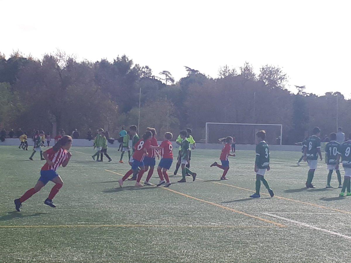 partido futbol atletico de madrid