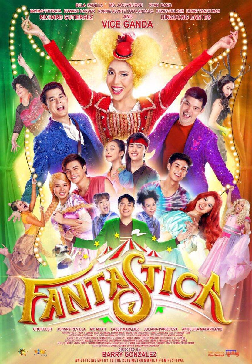 Saturday surprise! Here's the official #Fantastica poster!  #FantasticaPosterUnlock<br>http://pic.twitter.com/b84aio6h2u