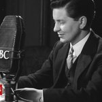 Image for the Tweet beginning: Broadcaster, Richard Baker, who introduced
