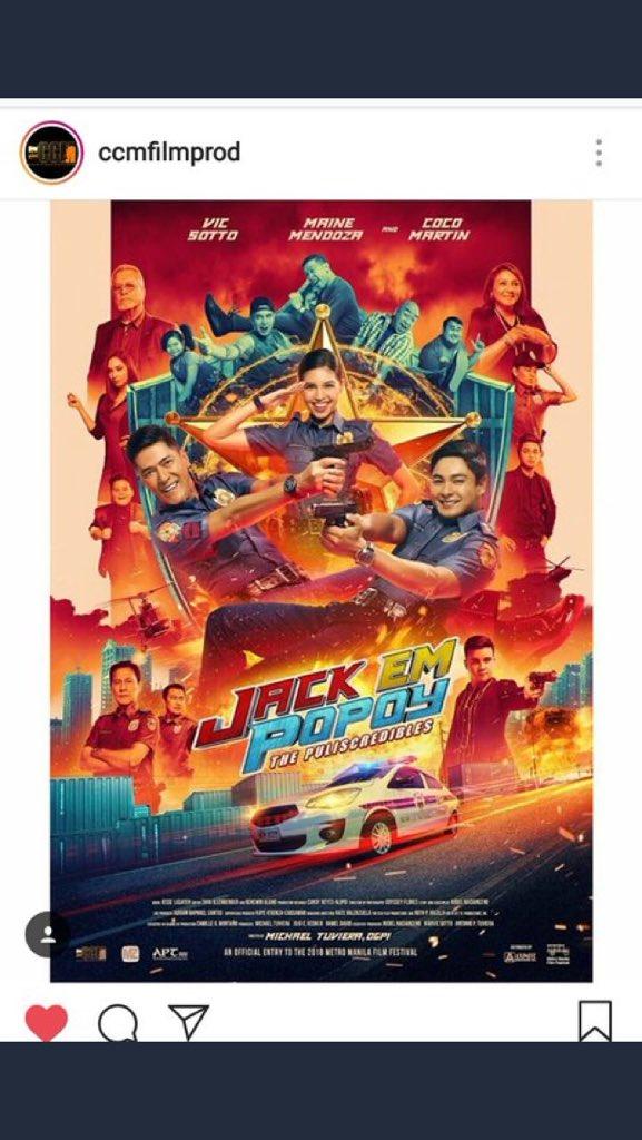 Poster of Jack Em Popoy December25 na  #DADDYSGURLonFire<br>http://pic.twitter.com/0mSuJNK8Vp