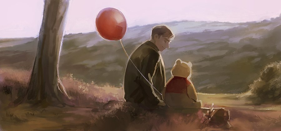 some studies using christopher robin caps