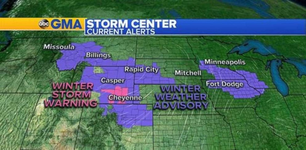 WEATHER: Snow moves into Northern Plains as Midwest, Northeast brace for arctic cold. https://t.co/WoRtZkW1sS https://t.co/kIAVkohf22
