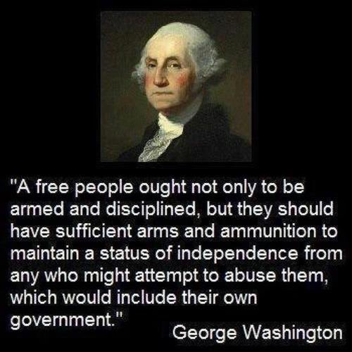This IS what they meant when they wrote that second amendment...straight out of the horses mouth.