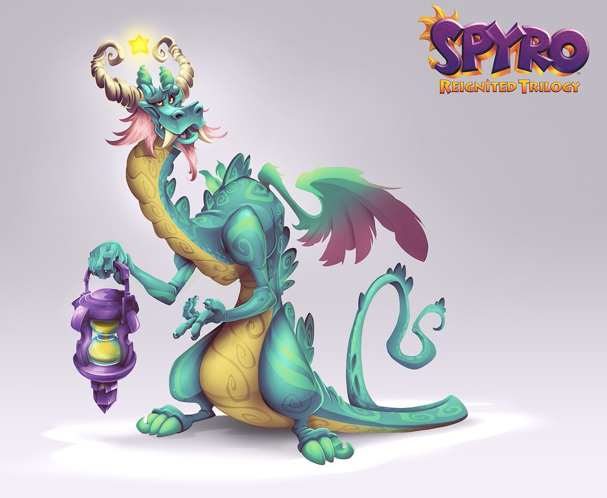 Zikamo concept!   So proud to have worked on this game and with Toys For Bob. The combination of talent &amp; positivity that studio has is both inspiring and impressive. This game is just a reflection of that energy.  #SpyroReignitedTrilogy<br>http://pic.twitter.com/gjGg4IXglw