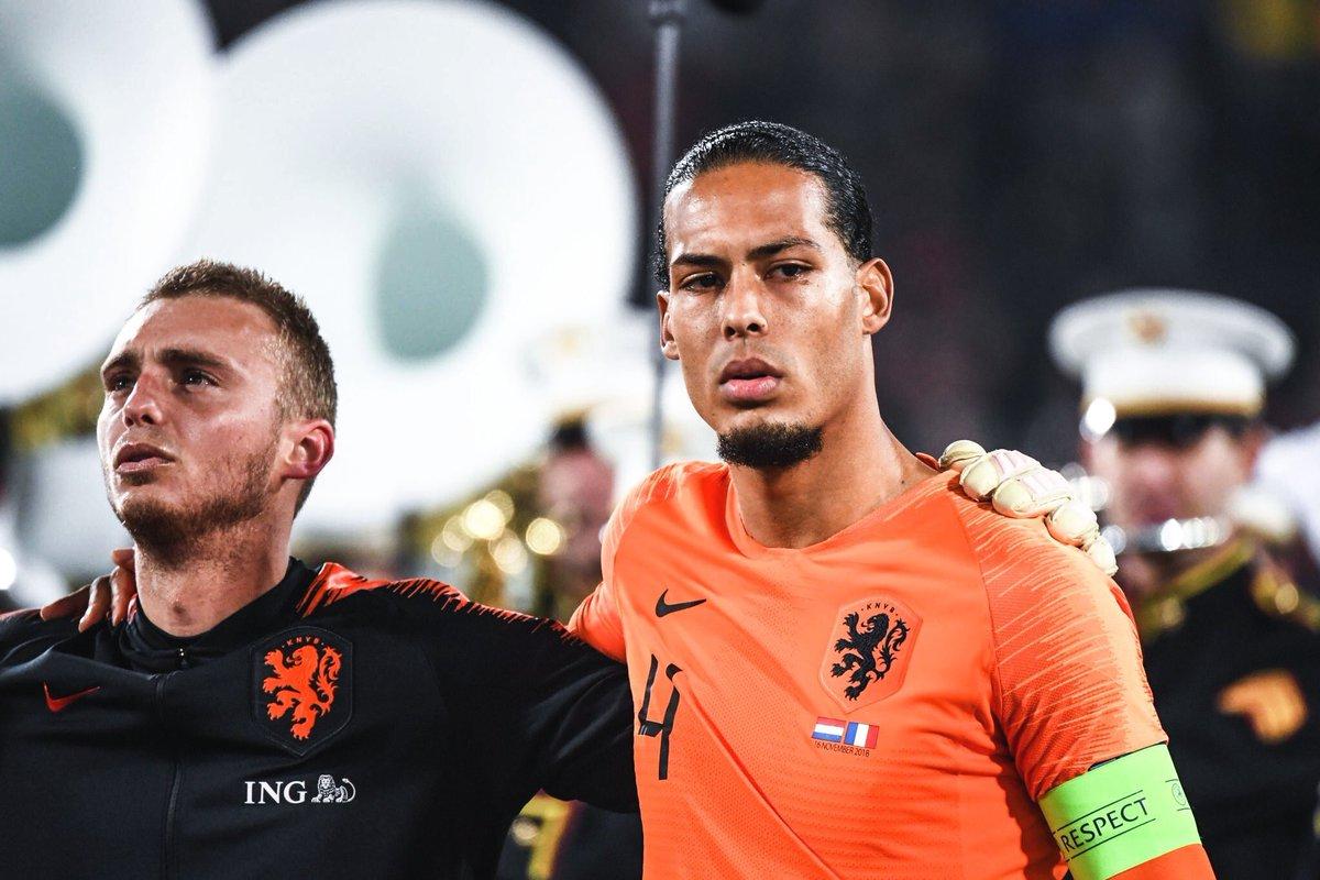 Virgil van Dijk has kept 3 clean sheets for the Netherlands since being named captain. 3-0 vs Portugal 3-0 vs Germany 2-0 vs France 😎