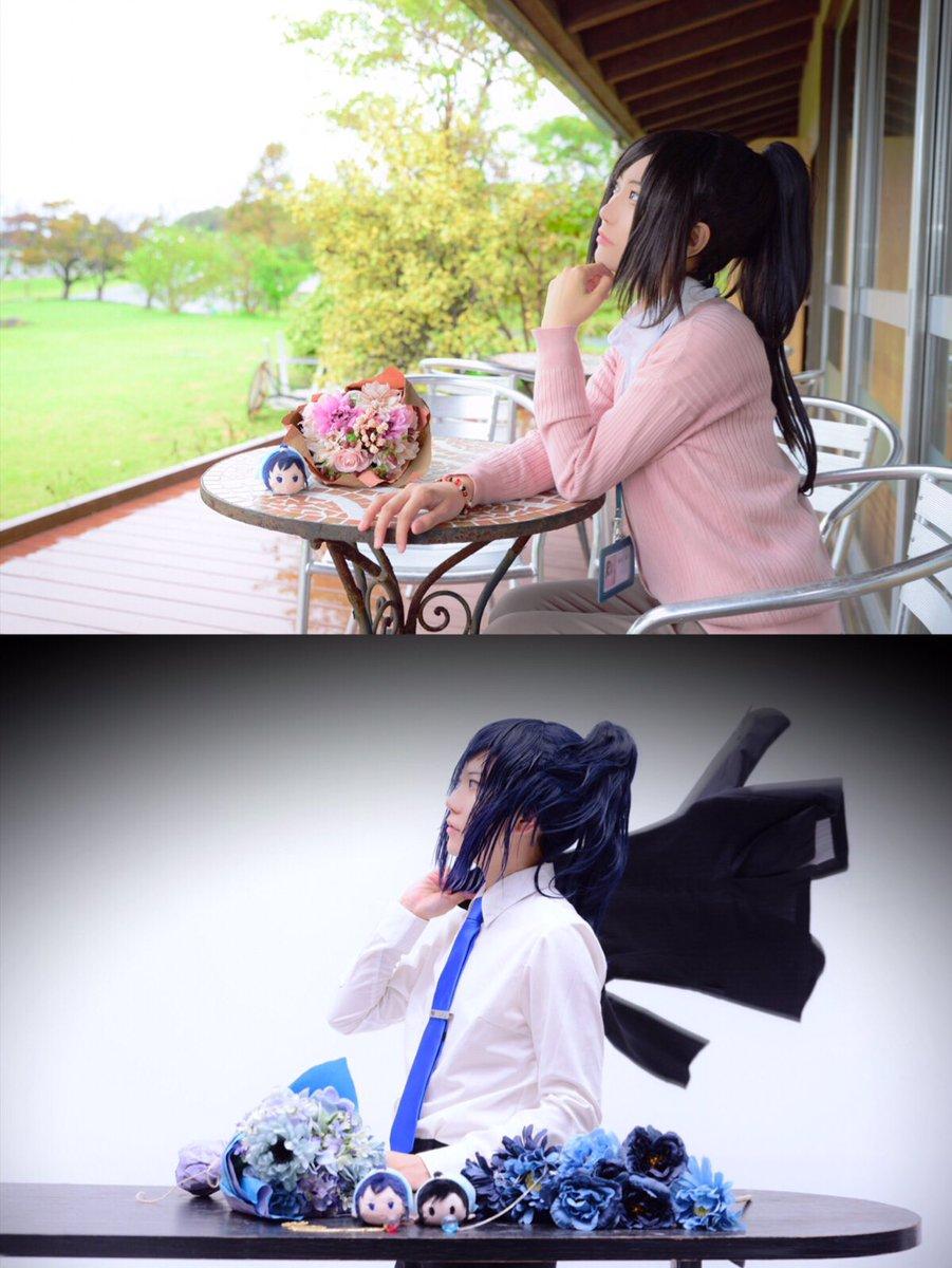 11/24閃華の新刊で未収録の現パロ写真を投稿させていただきました。本のノベルティはこちらにしようと思っています。近日お品書き兼サンプルをあげたいと思っておりますのでよろしくお願い致します。  撮影:にしひろさん(@nishihiro0312) ハンドメイド:麻こよちゃん(@Ruai211) 花束:小野ちゃん