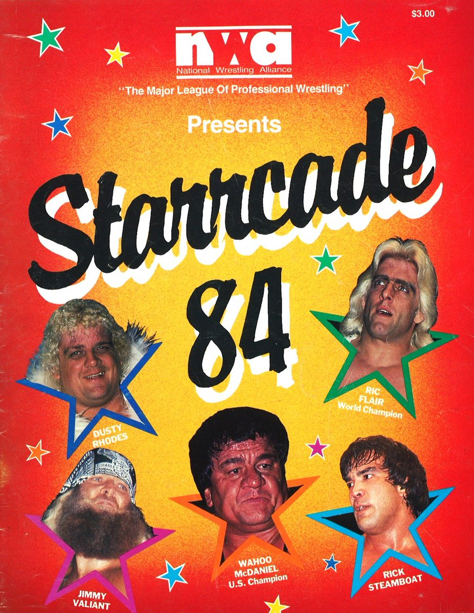 In the month of November, WRESTLER WEEKLY celebrates the great Supercards of Wrestling! Day 17 is Starrcade 84 which featured the Million Dollar Challenge between #RicFlair and #DustyRhodes!<br>http://pic.twitter.com/KFh9ihNfvy