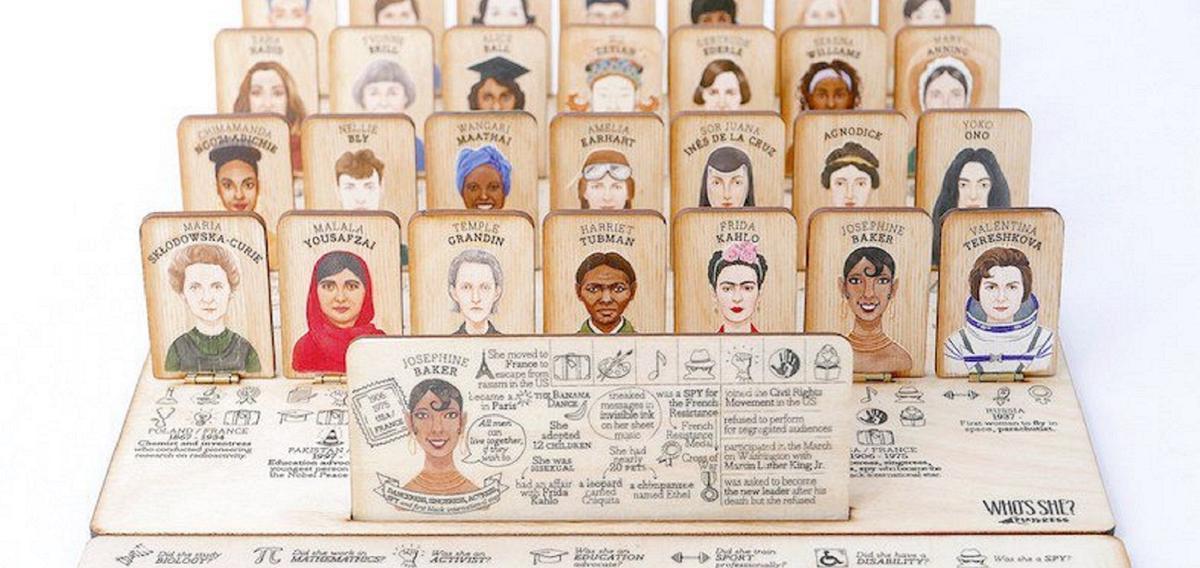 'Who's She ?', le 'Qui est-ce ?' des figures féminines qui ont marqué l'histoire>>  https://t.co/Mo1nhRYlRv