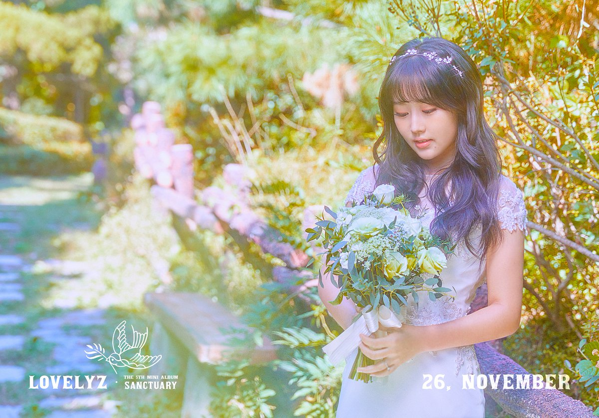 [#Lovelyz] #러블리즈 5th Mini Album  #Sanctuary Concept Photo #BABYSOUL<br>http://pic.twitter.com/UF7evOlETc