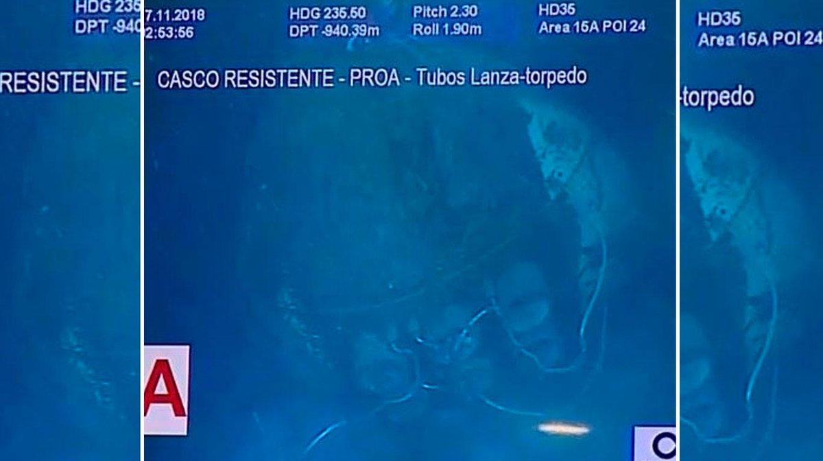 Ara San Juan, el ahora olvidado submarino Argentino desaparecido con 44 tripulantes a bordo - Página 6 DsNqvXuXgAAM2PX