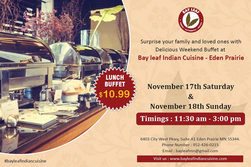 Admirable Bay Leaf Indian Cuisine Eden Prairie Mn On Twitter Feel Download Free Architecture Designs Ogrambritishbridgeorg