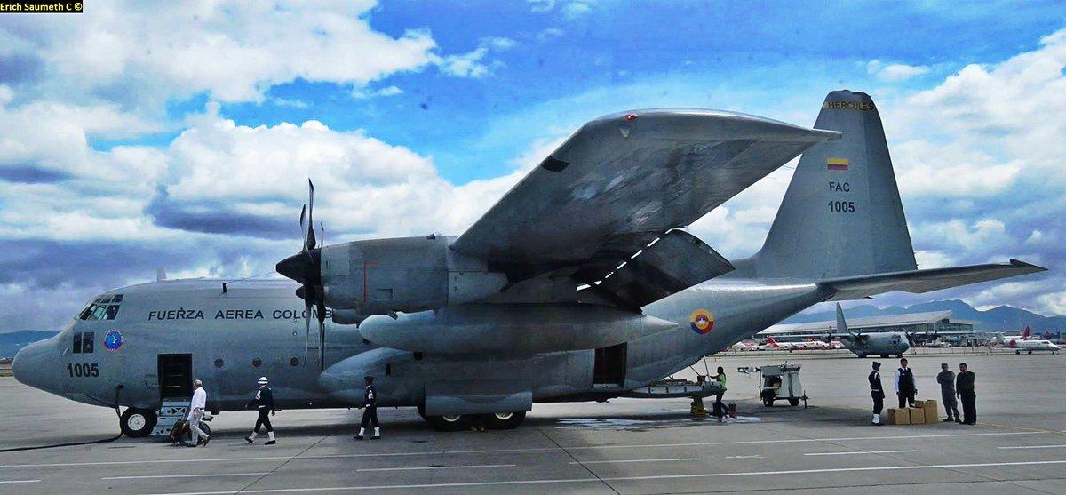 Resultado de imagen para Colombia recibirá donación de C-130 de los Estados Unidos.
