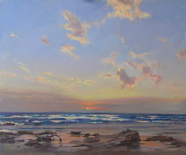 Days End Wye River ~ Oil, #artist Barbara Beasley~Southgate.  Fine #art tips and how to create pastel paintings with Barbara Beasley~Southgate on Colour In Your Life!   https://www. youtube.com/watch?v=XDrURf Hc_kk &nbsp; …   #artisttowatch #artoftheday<br>http://pic.twitter.com/BGYZqokvsz