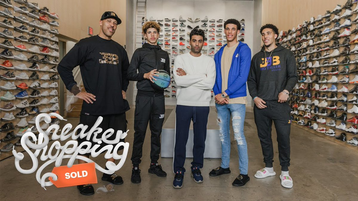 Sneaker Shopping debuts on @SpectrumSN at 7:30pm PST tonight following the @Lakers game. https://t.co/HhEzkNJ6oK