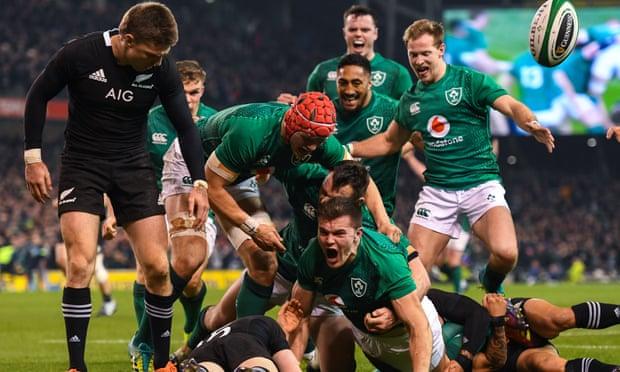 FINAL SCORE! Ireland 16-9 New Zealand #IREvNZL #AllBlacks Photo