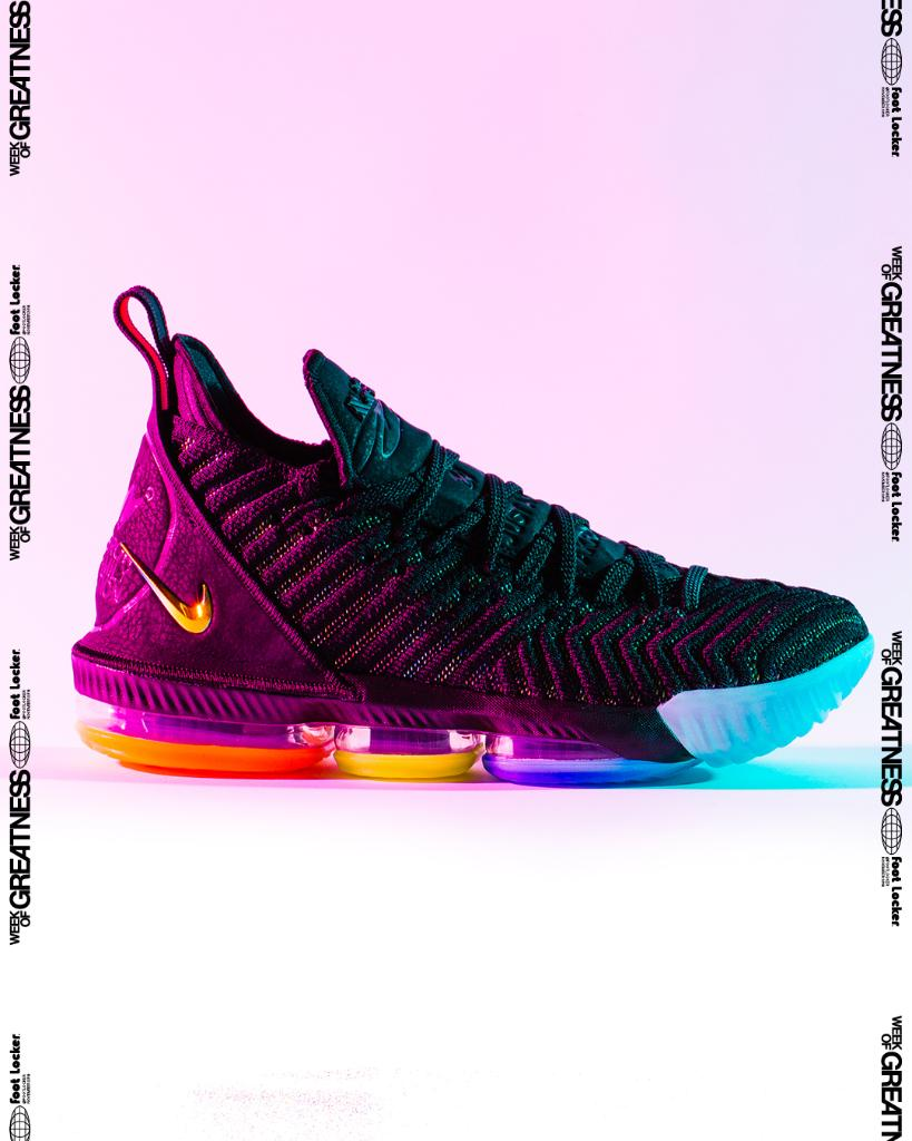 Inspired by his commitment to his community. #Nike Lebron 16 QS &#39;I Promise&#39; Launching 11/20, In-Store and Online Men&#39;s and Kids <br>http://pic.twitter.com/Wg3J0Yy93C