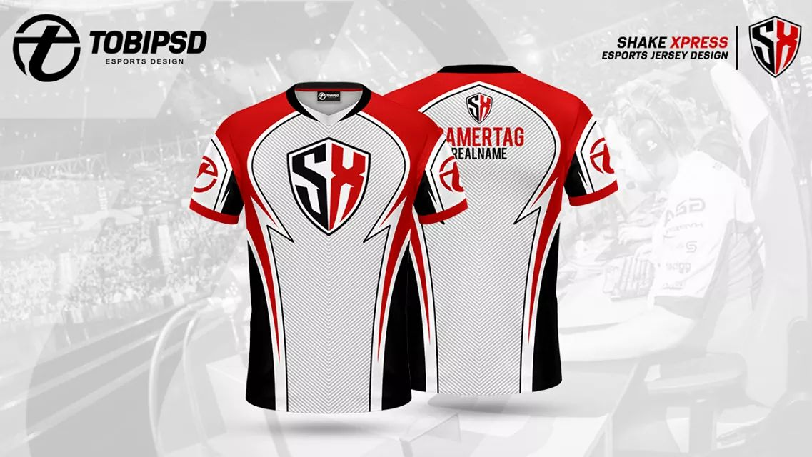 We Are Very Enchanted To Present The Oficial Shake Xpress Jersey.🚀😏😊 Made by TOBIPSD. 🤗🖌️