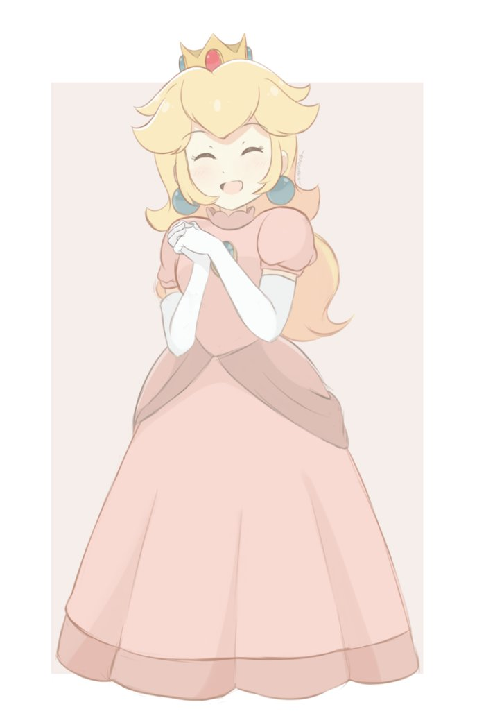 A full body version of my Princess Peach colored sketch to complete the set with Daisy and Rosalina! #Nintendo #SuperSmashBrosUltimate<br>http://pic.twitter.com/QgiJ5XHMjc