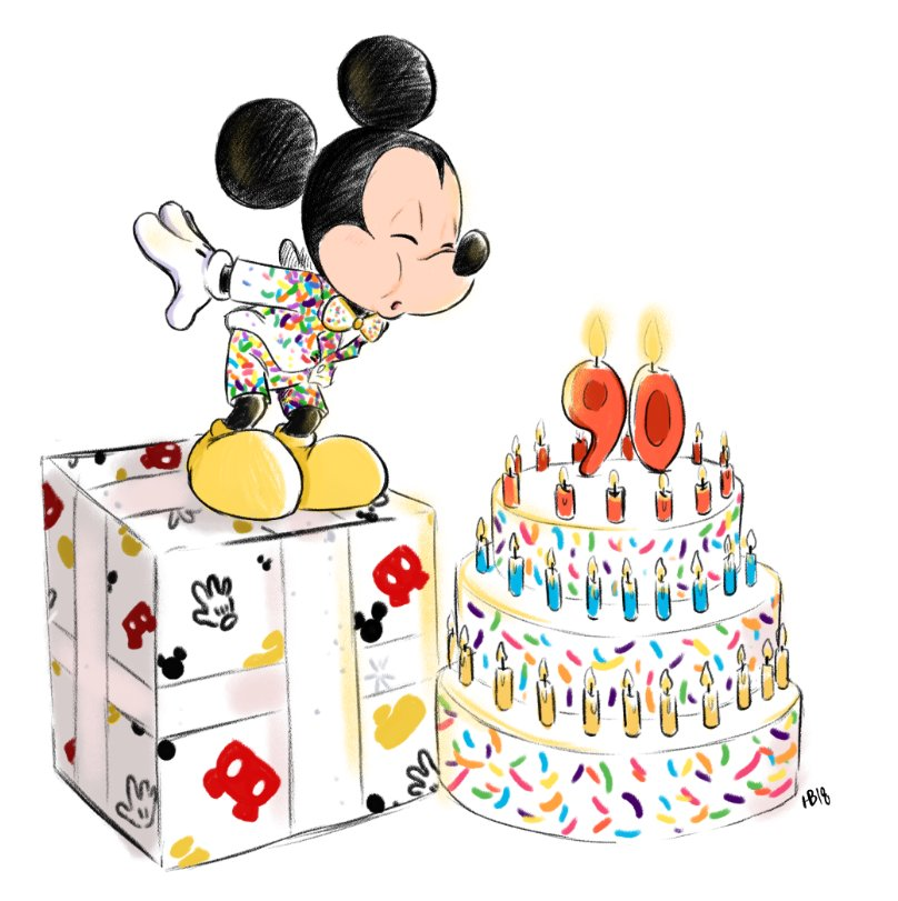 ITS MIDNIGHT IN CHINA SO ITS OFFICALLY #MickeyMouse 90TH BIRTHDAY!!!<br>http://pic.twitter.com/grp3RQ9rUp