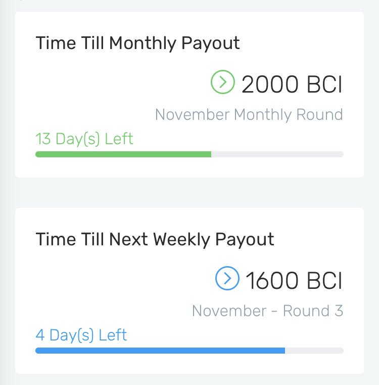 Time Till Next Interest Payouts! . . . . . #BitcoinInterest #BCI #Bitcoin #BitcoinNews #CryptoNews #Blockchain #Technology #Savings #Staking #Interest #Cryptocurrency #Crypto #Investment #BCIMiners #GPU #CryptoMining #BuyNow #HODL #DigitalGold #JoinTheFight #ProgPoW<br>http://pic.twitter.com/MU7LETpgm9