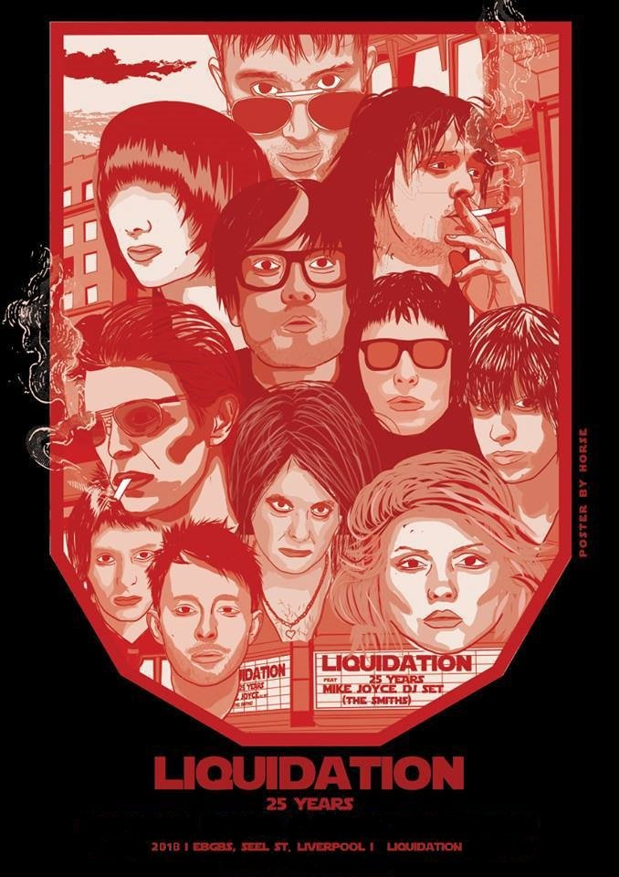 #25yrs 🎼 Congratulations @LQDNatHeebies Liverpools #1 Indie RocknRoll Disco party @ebgbsliverpool 🎙️🎸🥁 So much hard work, dedication & commitment goes into running a club night / event for one year! let alone 25! So hats off to them for sticking around so long.. 💋 Jjx