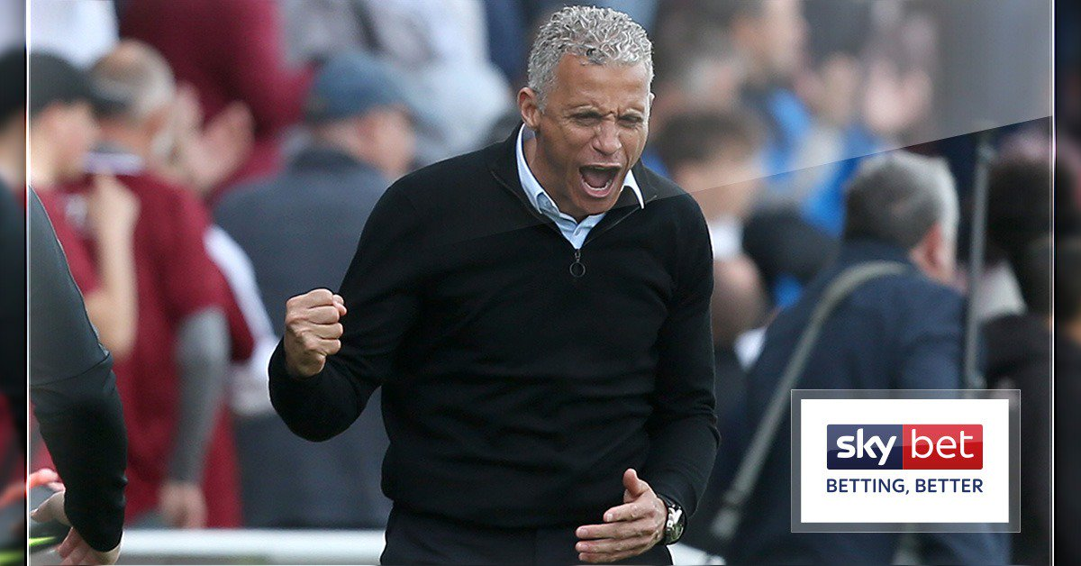 👊 @ntfc in all @SkyBetLeagueTwo since Keith Curle arrived.  🤝 🤝 ✅ ❌ ✅ ✅ ✅ 🤝  🚢 The Cobblers ship has been steadied. #ntfc