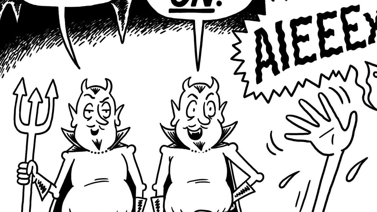 This Week's Editorial Cartoon: 'The Fantastic Bore' trib.al/aEpkT4f