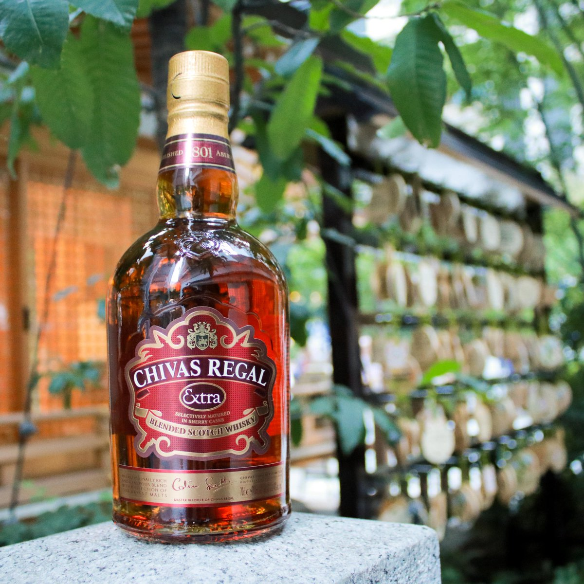 Peaceful setting, smooth whisky. Escape the hustle and bustle with a bottle of Chivas Extra. #ChivasExtra #ChivasRegalNG https://t.co/5nCB5R0EJa