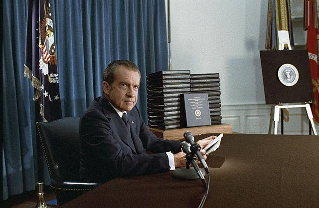 """On this day in 1973, President Richard Nixon declared """"I am not a crook"""" at the Contemporary Resort <br>http://pic.twitter.com/eNtF1dKIGL"""