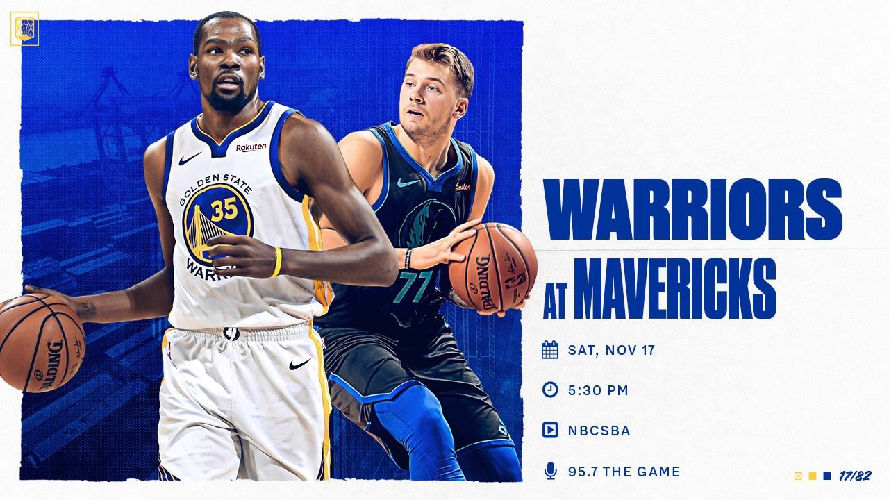 It's a Dubs vs Mavs Saturday night matchup ��   Here's what you can expect  » https://t.co/VwKW7d3mL8 « https://t.co/WOCuzexWqp