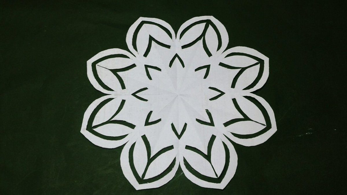 Paper Craft On Twitter Paper Cutting Easy Paper Cutting Design