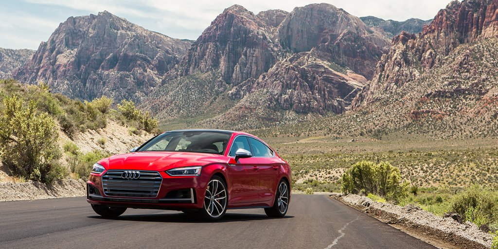 Is it hot out here or is it just us? #Audi #S5Sportback