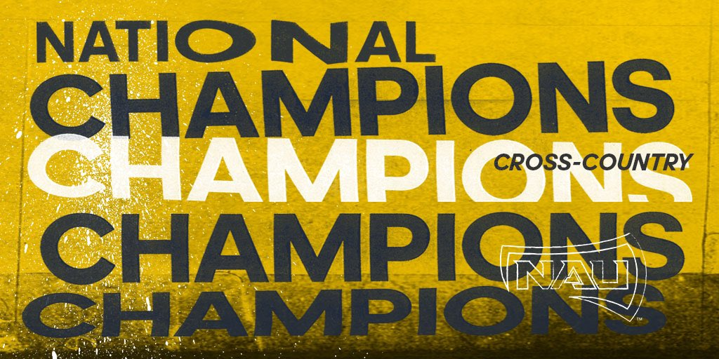 Dynasty.  Congrats to @NAUTrackFieldXC on winning their third straight men's National Championship.   🏆🏆🏆  #teamadidas