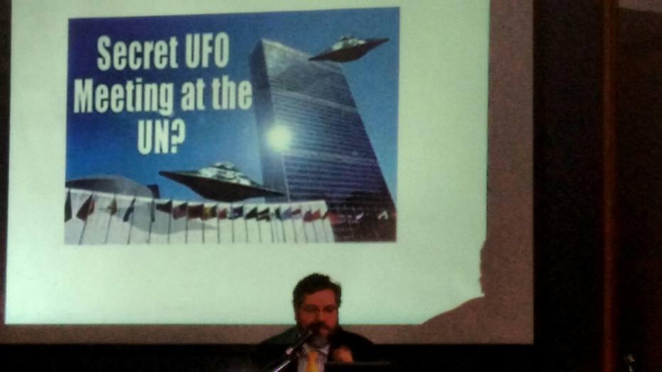 Futuro chanceler cita discos voadores em palestra e alega 'senso de humor'. https://t.co/WPdTzzxZ3a
