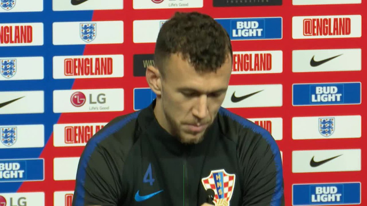 Perisic issues a word of warning to England for tomorrow... 💪