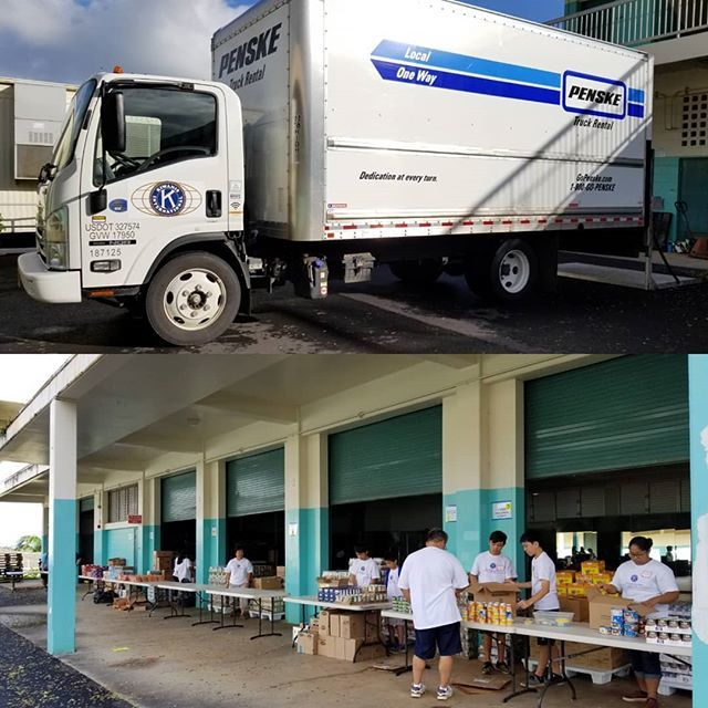 Making& Delivering baskets of food for families in need! #pact #kcfc #kaneohekiwanis #kiwanis #basketsofblessings https://ift.tt/2BdPDTa