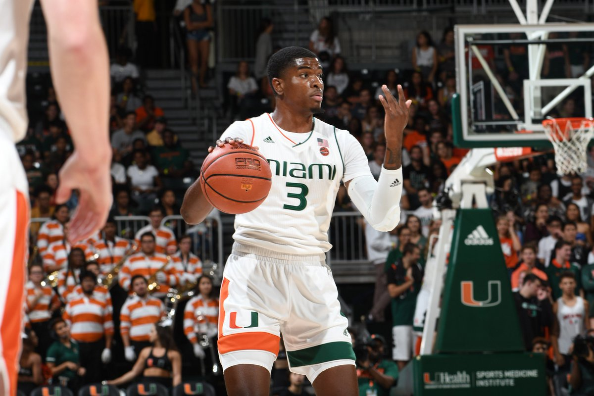 Amp has 4⃣ and 4⃣ early. Canes trail by 5.