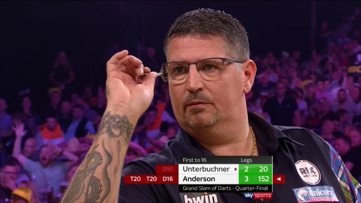 HES MADE IT LOOK SO EASY | A huge 152 from Anderson 🎯 #bwinDarts