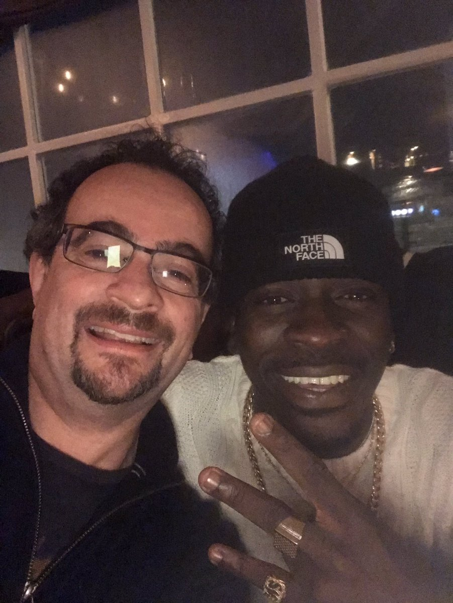 Live right now in my local pub with the one and only @shattawalegh - we have enstooled him as the king of my traditional area.