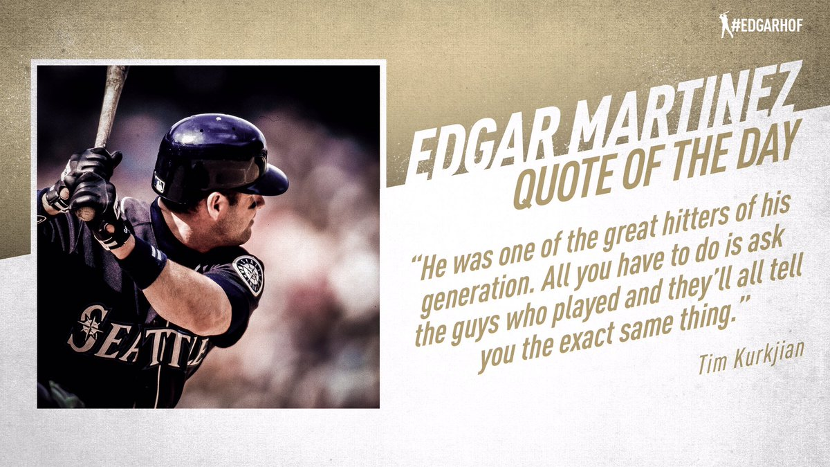 Edgar is respected throughout baseball. #EdgarHOF More: atmlb.com/2KdsBPj