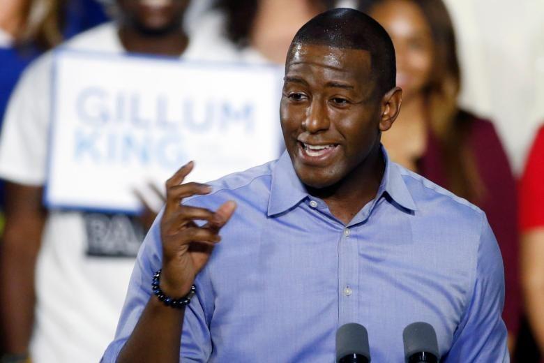 Democrat Andrew Gillum concedes Florida governor's race, congratulates Ron DeSantis https://t.co/ClyJwgVo6G