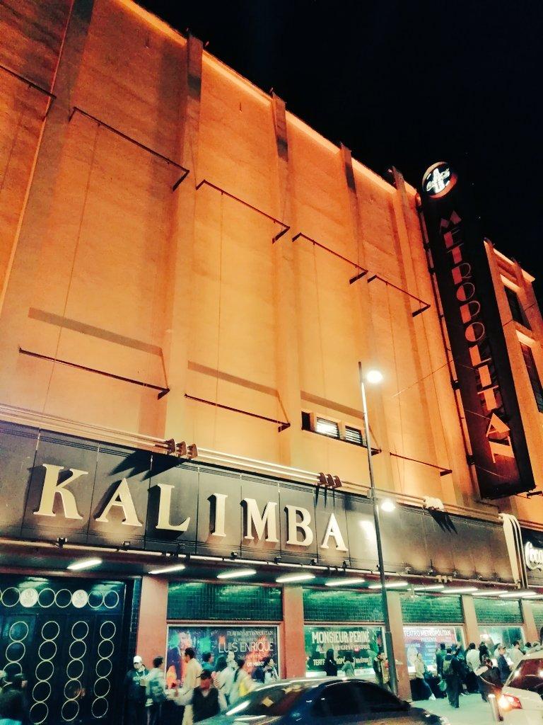 Esta noche sin duda se armará la #Fiesta en el @TMetropolitanMx con @KalimbaMX 😍🙌🎶🎸 ¿Listos? #SomosMuchosYVenimosTodos