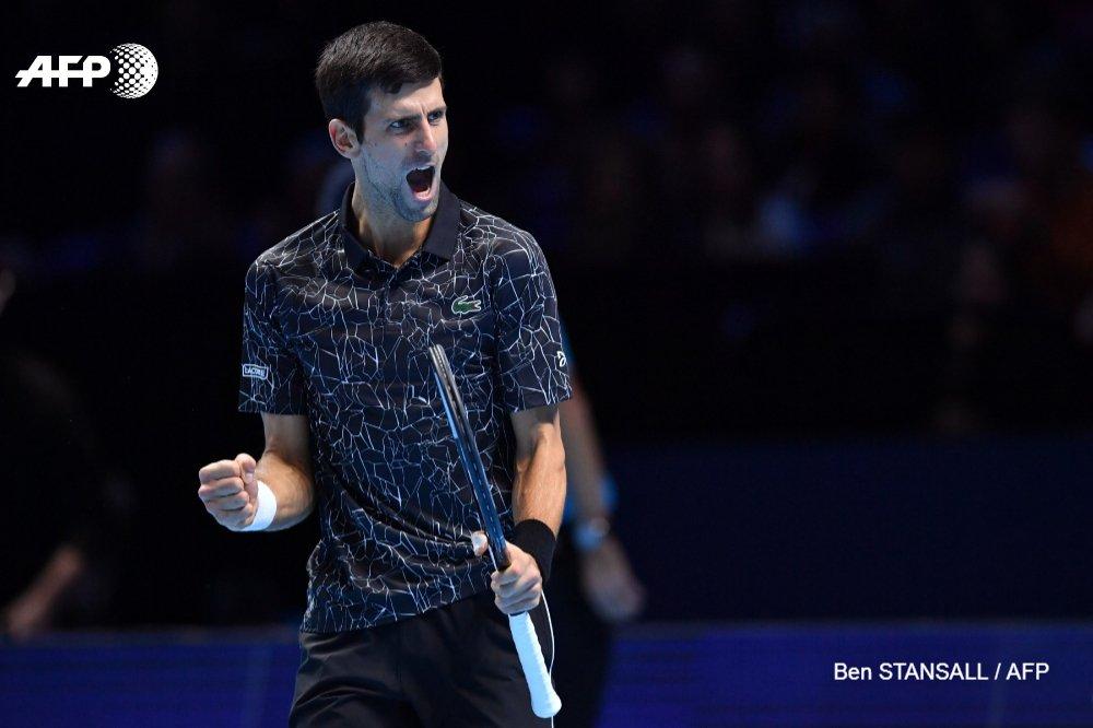 Tennis/Masters: #Djokovic domine Anderson et rejoint #Zverev en finale @AFPSport #AFP #ATP