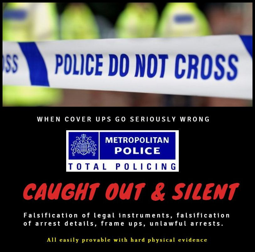 Why are you not reporting on this? @Telegraph #thetelegraph @guardian #TheGuardian @DailyMailUK #dailymail @metpoliceuk @metcc #MetPolice #Press #Presspreview #Britain #TheresaMay #UKGov #SkyPapers #BBCPapers #Whistleblower #PMQs