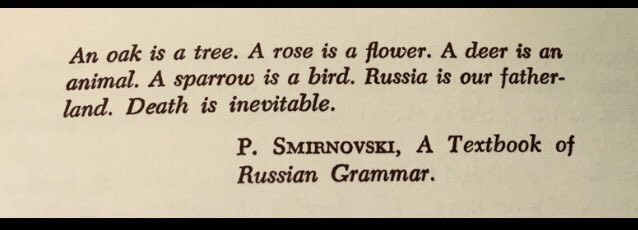 Still the best lines Nabokov never wrote. #TheGift