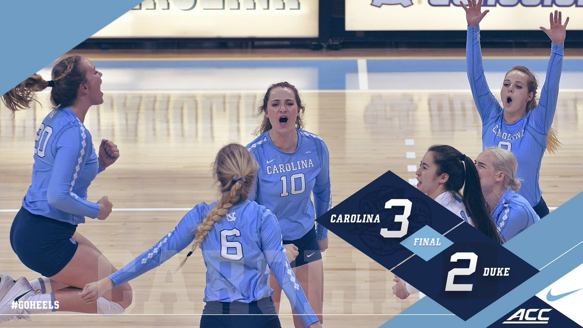 Carolina Victory!!!  UNC defeats Duke, 3-2!! #GoHeels 🐏 https://t.co/Vg9F3Tj9bC