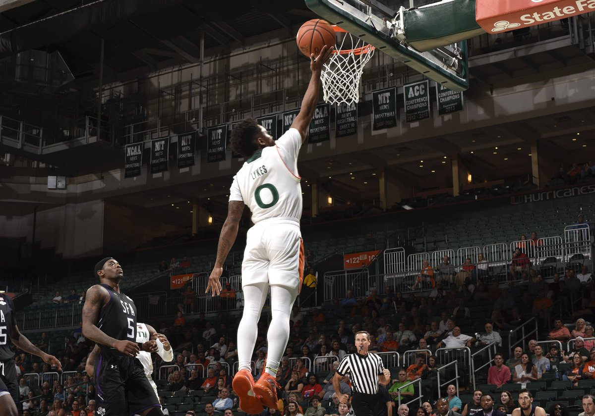 Chris Lykes has had a historic start to the 18-19 campaign. After his 21-point performance today, he became the first UM player in 29 years (Joe Wylie) to open the season with three straight 20+ point games.