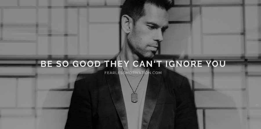 Be so good they cant ignore you 5 Impactful Life Lessons Learned from Tom Bilyeu: buff.ly/2Ao76c0
